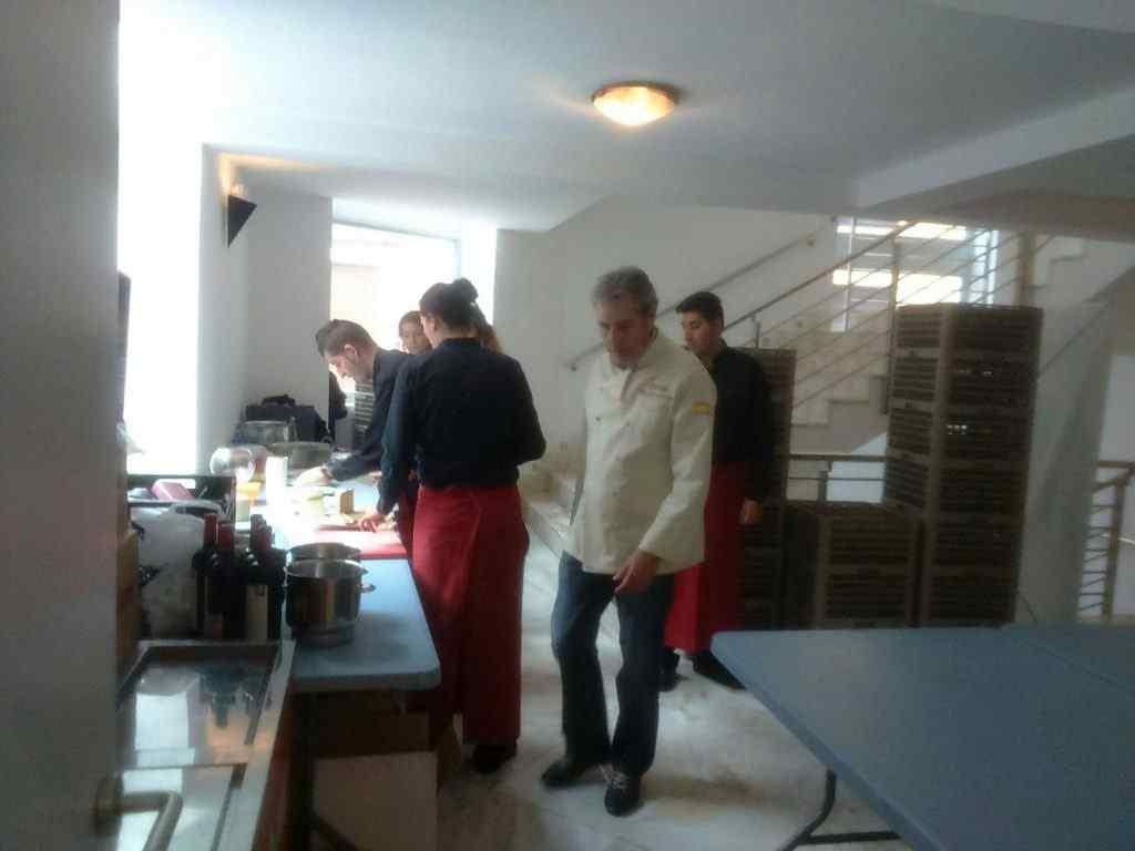 cata de café en Singular Kitchen