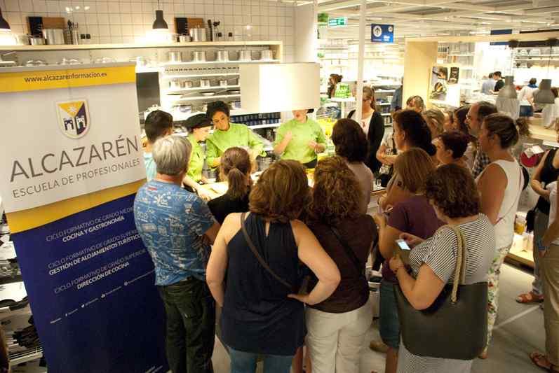 Alumnas de la escuela de cocina Alcazarén: De las aulas a Ikea