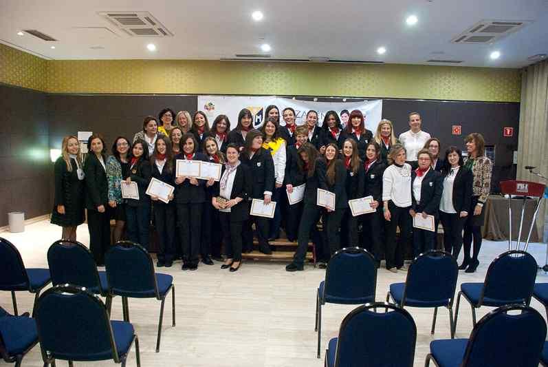 Acto de Graduación de las alumnas de Ciclos de Formación Profesional