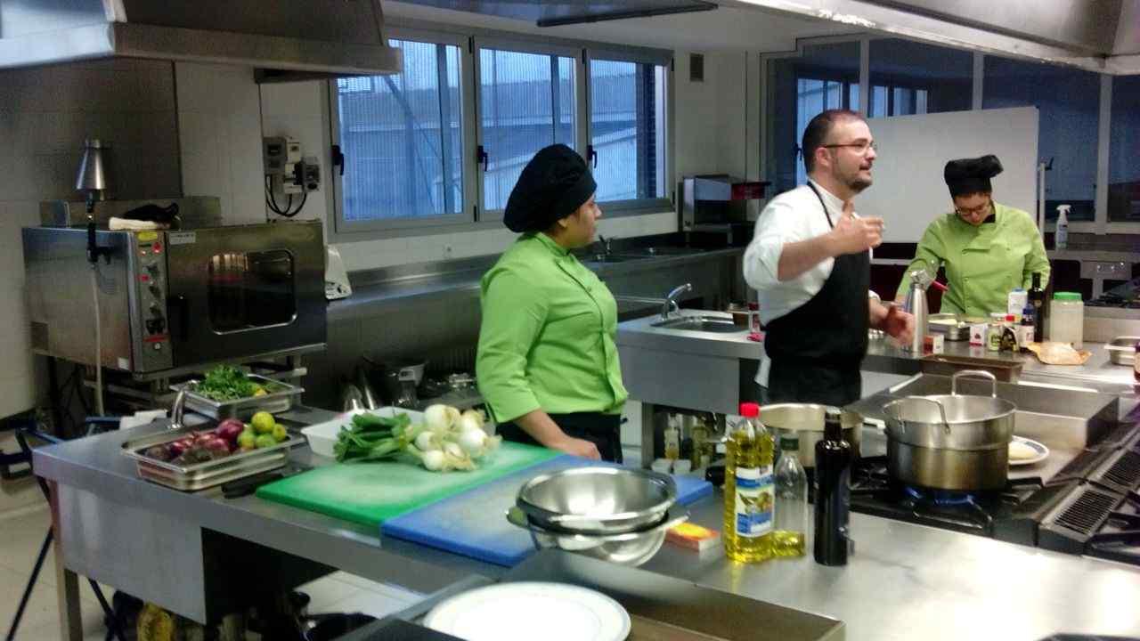 Masterclass de cocina con Sergio Rama
