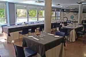 restaurante alcazarén presentación de mesas
