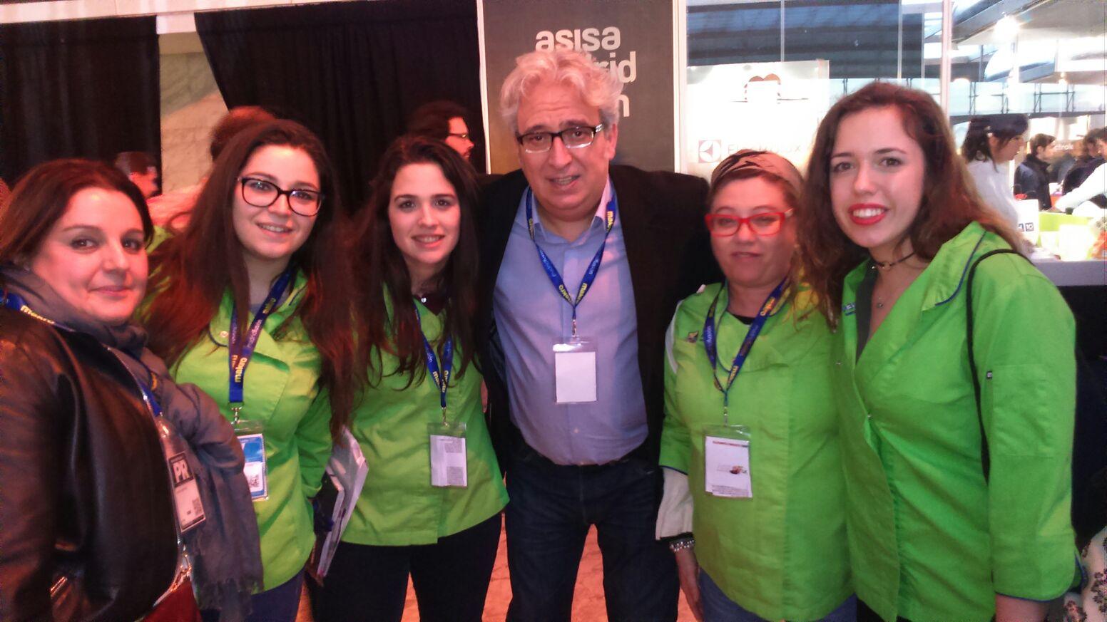 Nuestra alumna: Virgina, en Escoge a tu Pinche, en Madrid Fusión