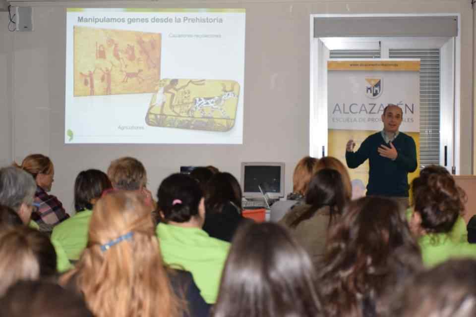 visitas culturales de las alumnas de alcazarén