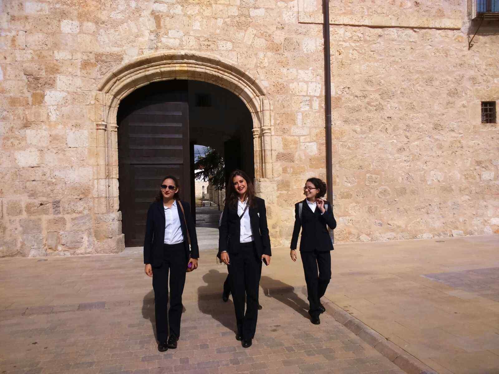 Formación práctica en Turismo. Visitas profesionales de las alumnas