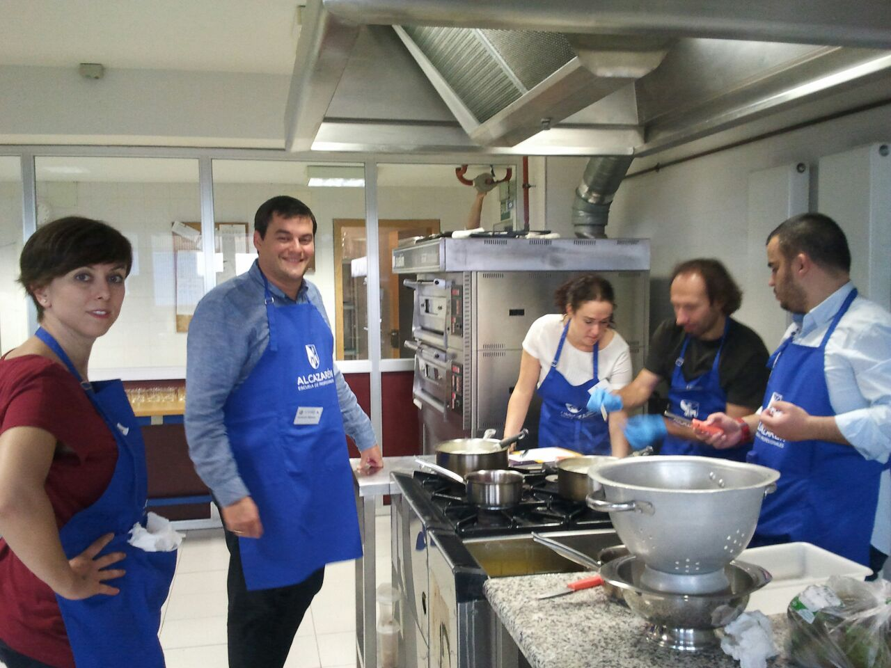 Outdoor Training de Cocina para Ibecon