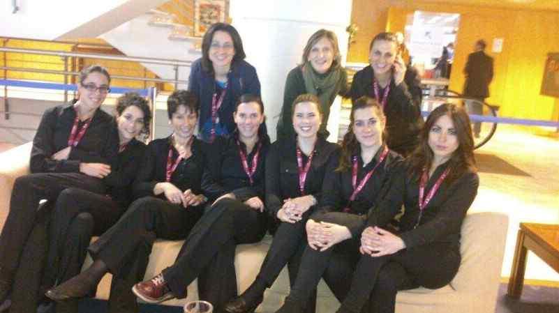Alumnas de la Escuela Alcazarén colaboran con el Ayuntamiento de Valladolid en Madrid Fusión 2014