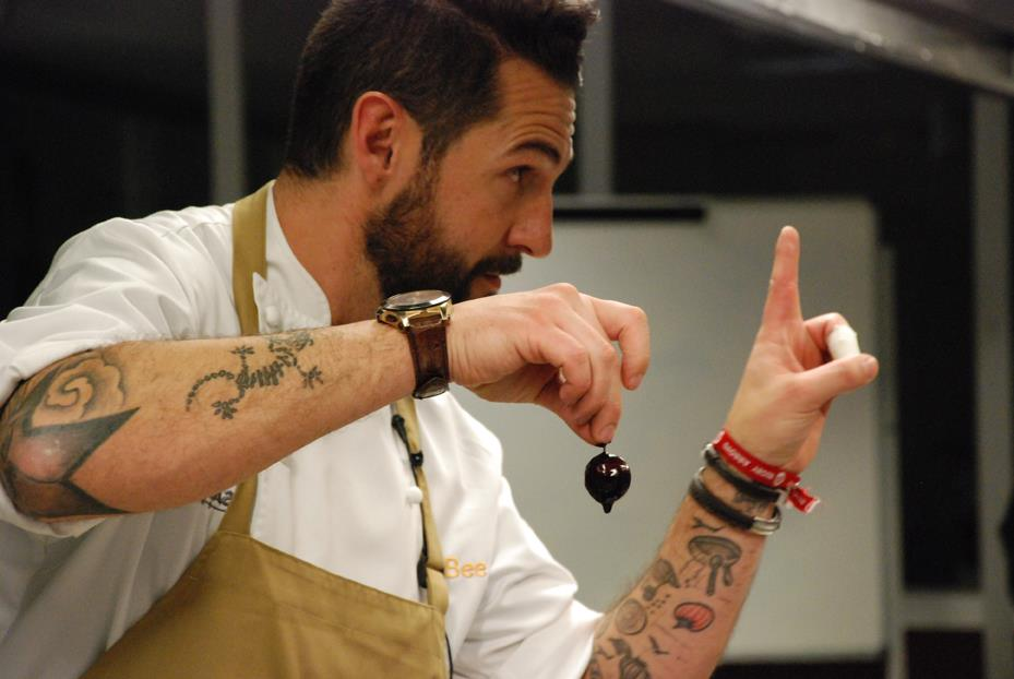 chef peña showcooking