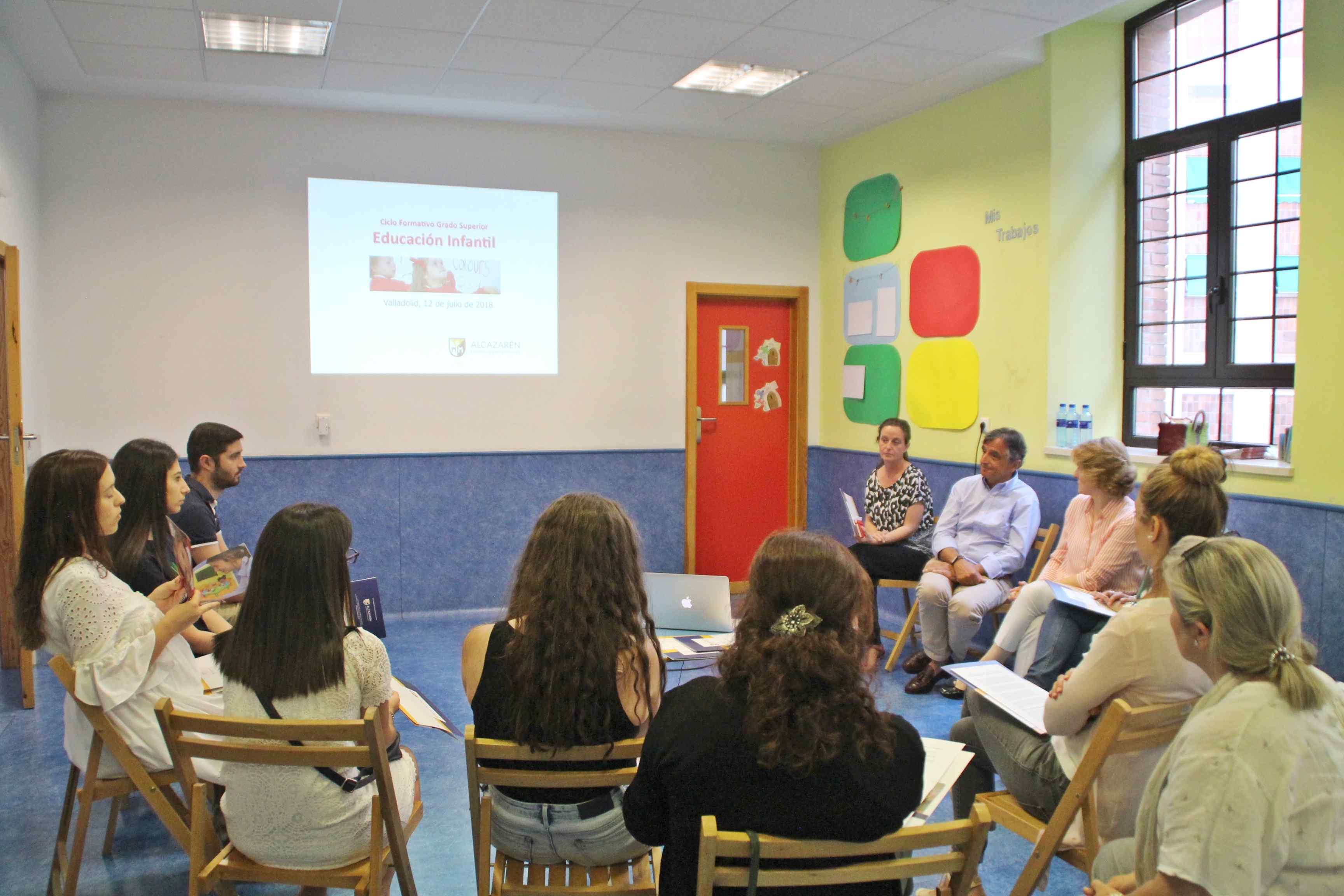 educación infantil bilingüe sesión informativa