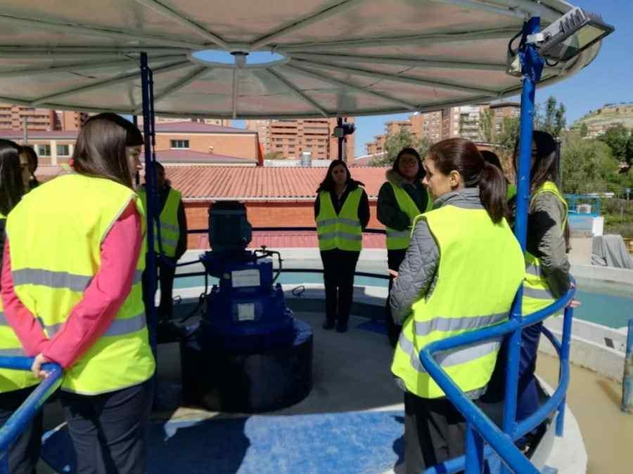 excursiones de las alumnas a la potabilizadora