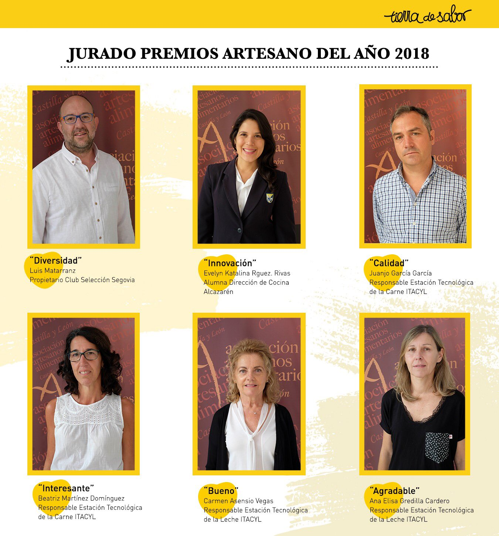 Alumna de Dirección de Cocina, jurado de los Premios Artesano 2018