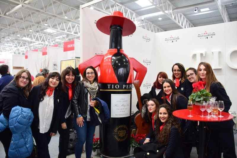 Visita de las alumnas de Gestión de Alojamientos Turísticos a FIBAR Valladolid