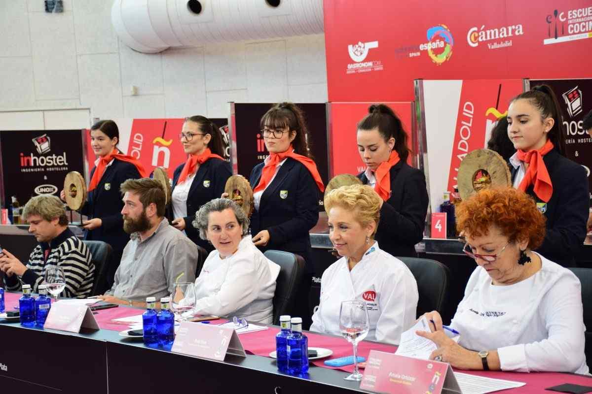 Alumnas de Cocina y Dirección de Cocina en el Concurso Nacional de Pinchos y Tapas 2018