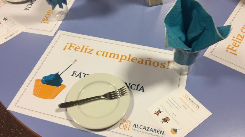 Celebración de cumpleaños en Alcazarén