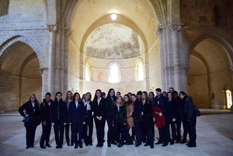Visita sobre gestión hotelera a Abadía de Retuerta