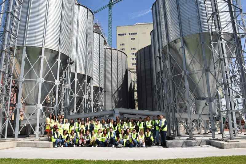 Todos los Ciclos de Formación Profesional visitan la Cooperativa más grande de España