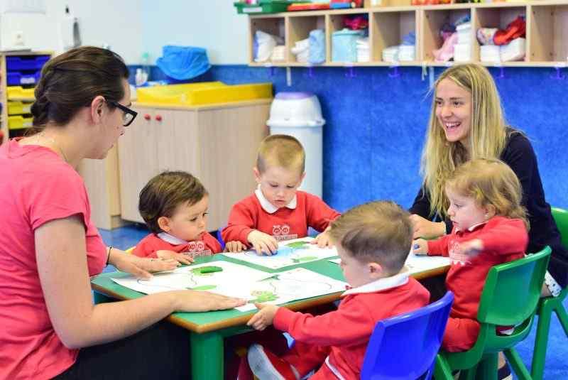 Actividades formativas en Centros de Educación Infantil