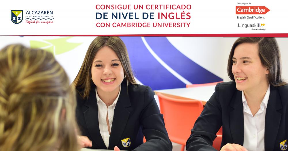 Firma del convenio como Centro preparador de Certificados de Cambridge