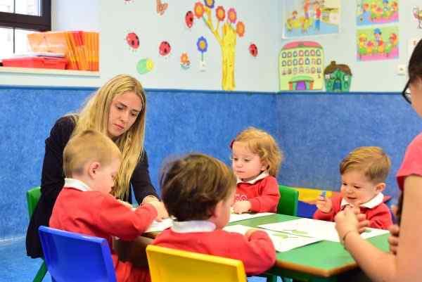 La sonrisa de un niño es la mejor recompensa al trabajo en un Centro de Educación Infantil