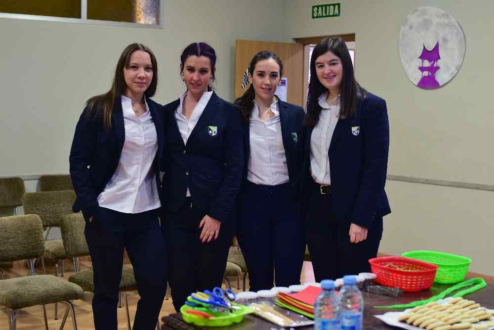 Hablando en La Salle de nuestros grados superiores en Valladolid