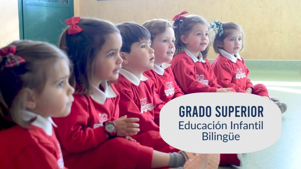 grado superior educación infantil