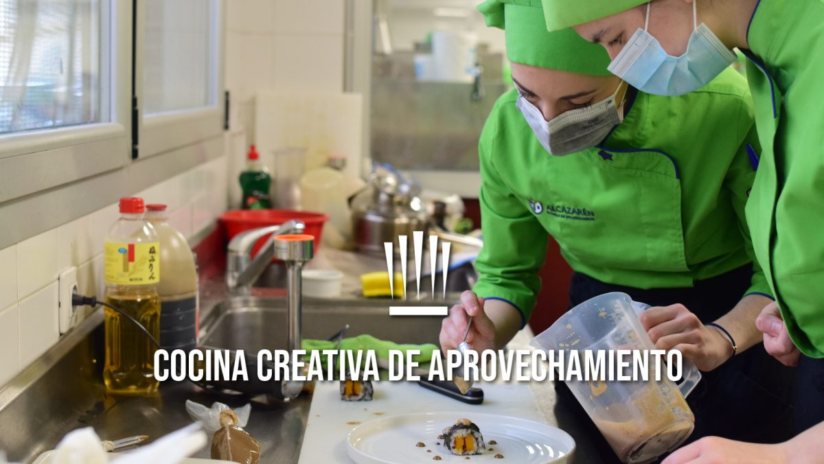 Sesión de Cocina Creativa de aprovechamiento