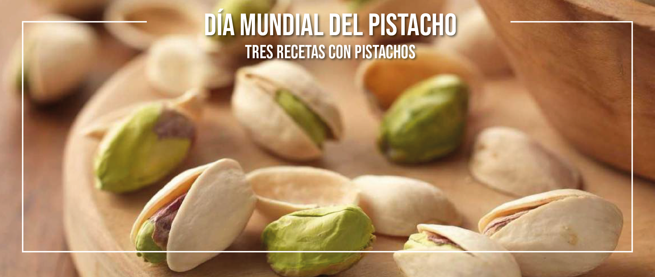 Recetas innovadoras de los alumnos en el día mundial del pistacho