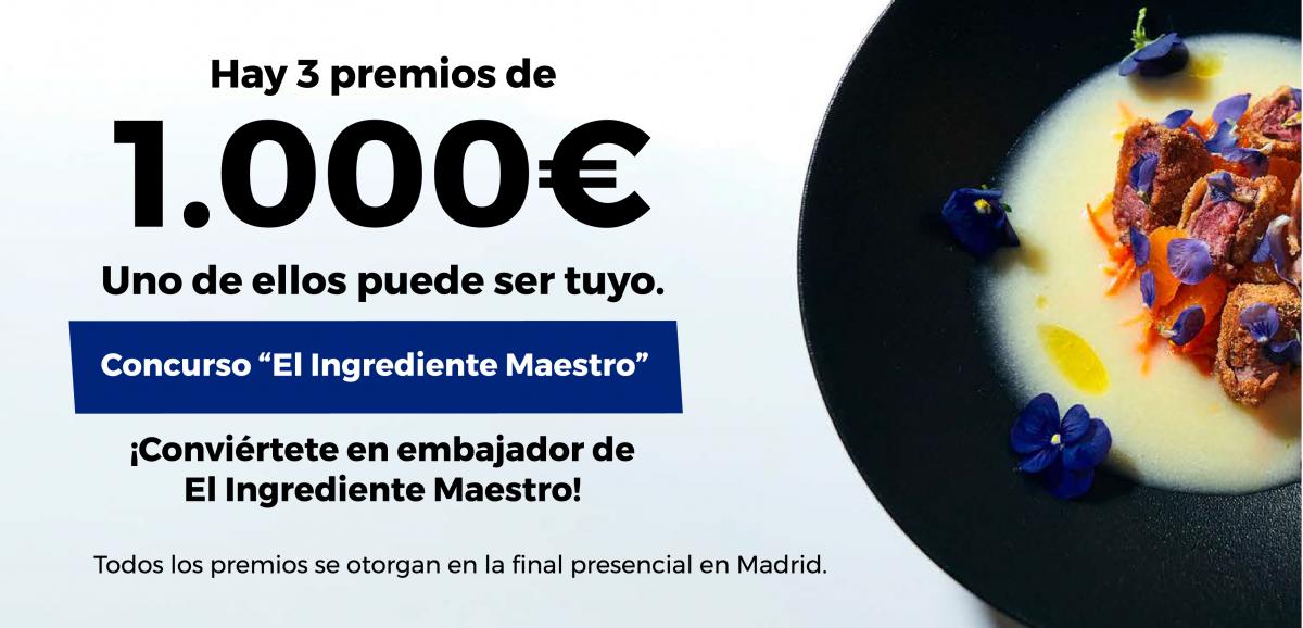 ¡Apúntate al Concurso «El ingrediente maestro» de Taste France!