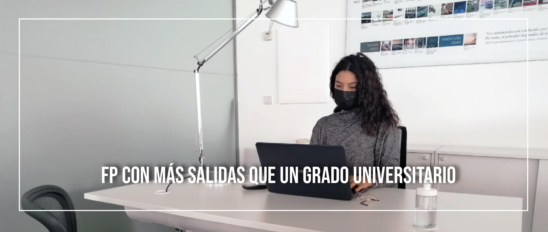 La FP cuenta con más salidas que un Grado Universitario